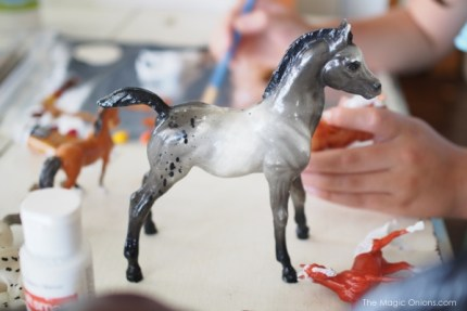 photo of a breyer foal
