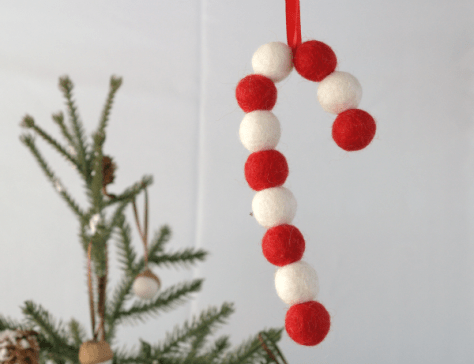 Needle Felted Christmas Ornaments : www.theMagicOnions.com/shop