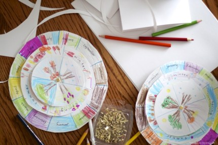 DIY Perpetual Waldorf Calendar :: Discovering Waldorf Education :: www.theMagicOnions.com