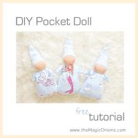 Making A Waldorf Pocket Doll :: FREE Pattern DIY Tutorial :: Discovering Waldorf Education