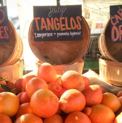 Beautiful tangelos on The Magic Onions Waldorf inspired blog
