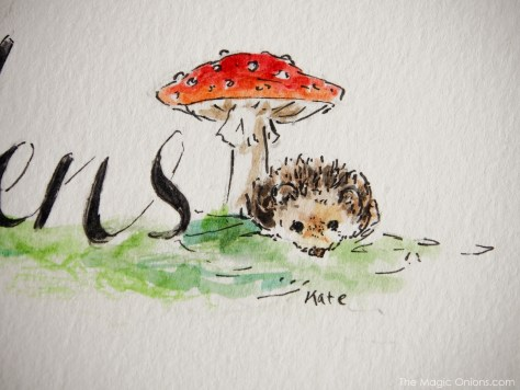 Watercolor Commission by Kitty - www.theMagicOnions.com