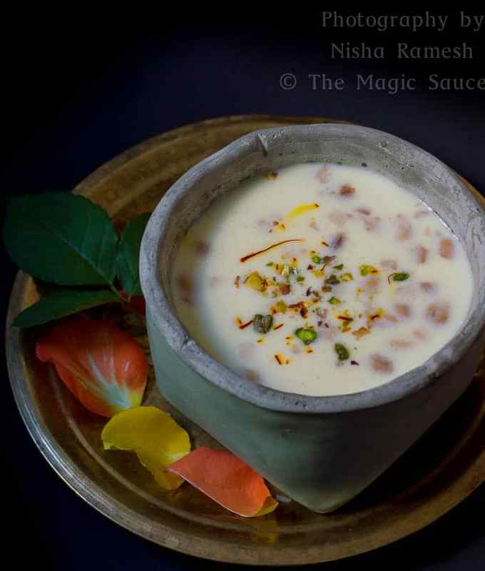 Paal Payasam   Indian Rice Pudding