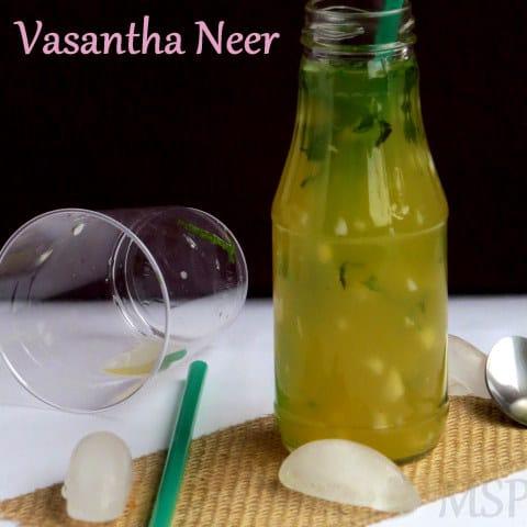 Vasantha Neer  | Cocont Water Lemonade –  An Exotic drink