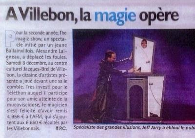 Le Républicain Téléthon 2012 Villebon sur Yvette 91