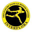 logo INTERFLORA Des fleurs dans le monde entier