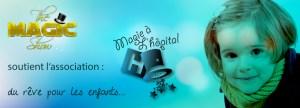 magic show soutient magie à l'hopital enfant hospitalisé