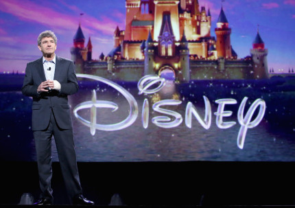 "ANAHEIM, CA - AUGUST 15: Chairman of the Walt Disney Studios Alan Horn took part today in ""Worlds, Galaxies, and Universes: Live Action at The Walt Disney Studios"" presentation at Disney's D23 EXPO 2015 in Anaheim, Calif. (Photo by Jesse Grant/Getty Images for Disney) *** Local Caption *** Alan Horn"