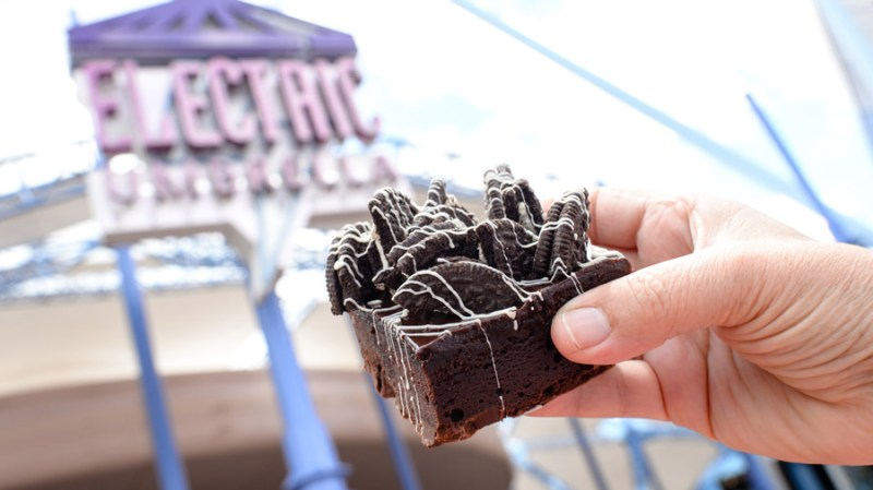 Cookie Crunch Brownie from Electric Umbrella at Epcot