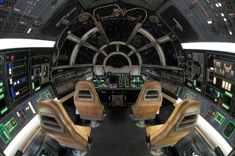 Inside Millennium Falcon: Smugglers Run at Star Wars: Galaxy's Edge