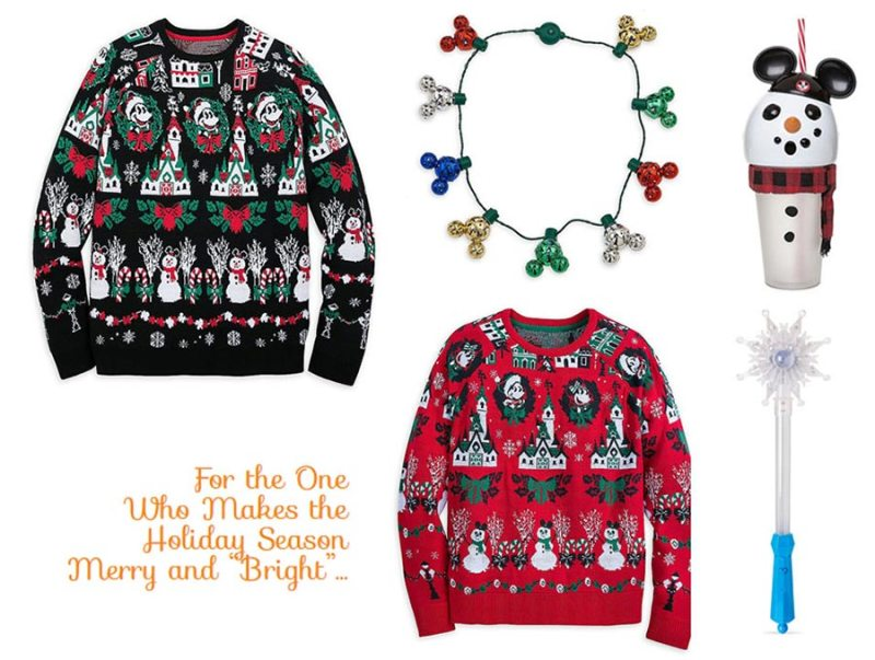 Disney Parks Holiday Ugly Sweaters