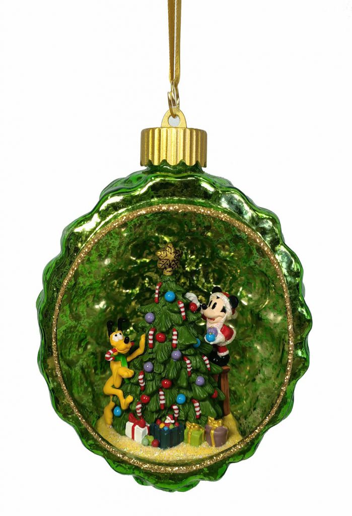 Mickey and Pluto Vintage Christmas Collection ornament