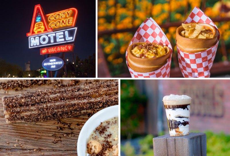 Cozy Cone Motel food items