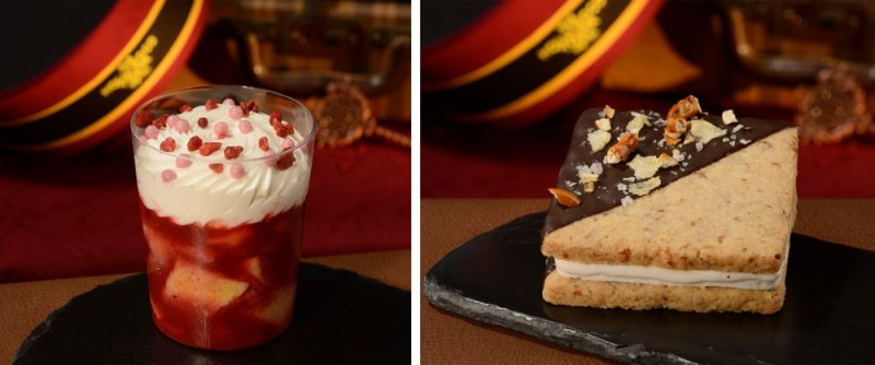 Strawberry Shortcake and Snacking Cookie Sandwich at Rosie's All-American Café