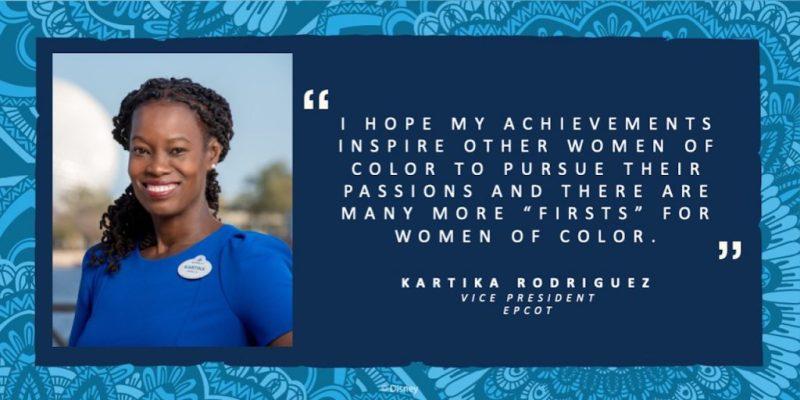 Kartika Rodriguez, Vice President of EPCOT
