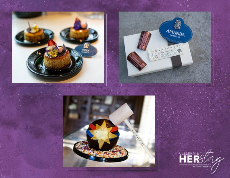 Treats from Amorette's Patisserie and The Ganachery