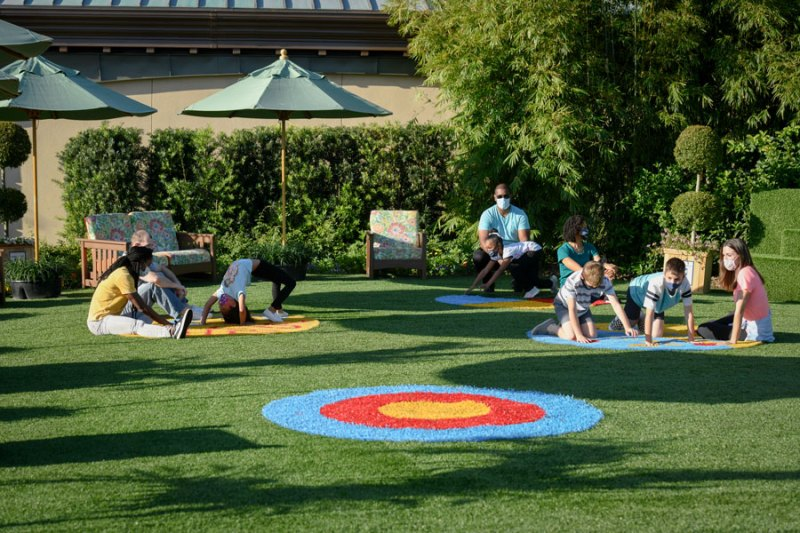 Play Full Garden Play Circles in the Health Full Trail presented by AdventHealth at Taste of EPCOT International Flower & Garden Festival