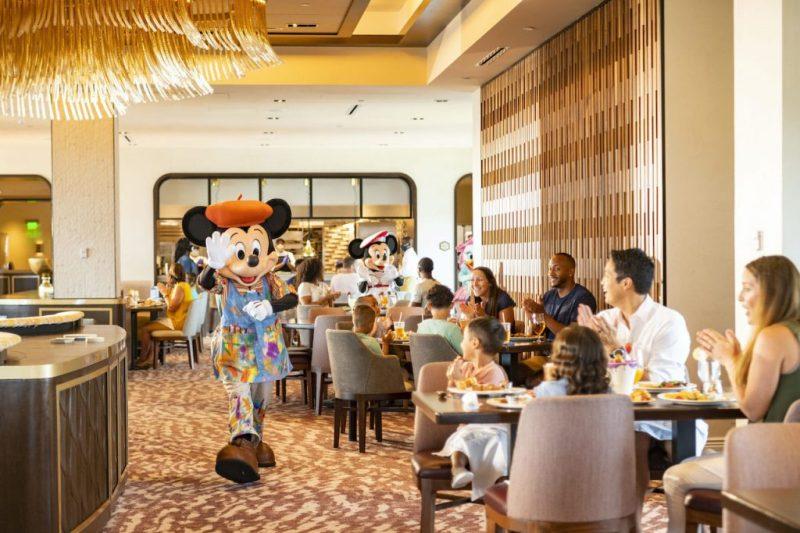 Character Dining at Topolino's Terrace at Disney's Riviera Resort
