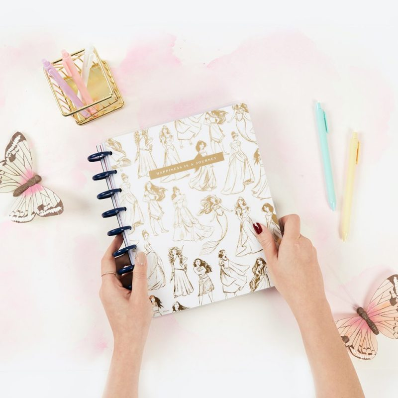 The Disney Princess collection of The Happy Planner