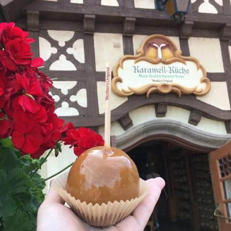 Carmel Apple from Karamell-Küche at EPCOT