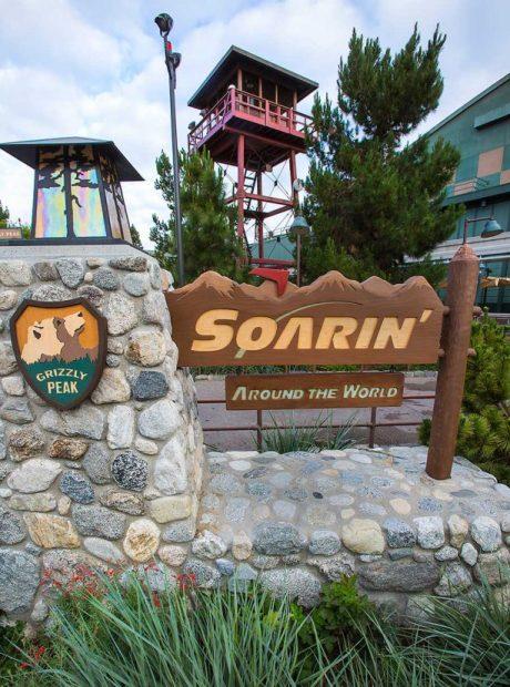 Soarin' Around the World, Disneyland Resort