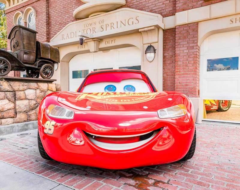 Lightning McQueen, Disneyland Resort
