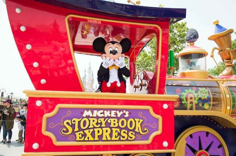 """Mickey's Storybook Express"" at Shanghai Disneyland Resort"