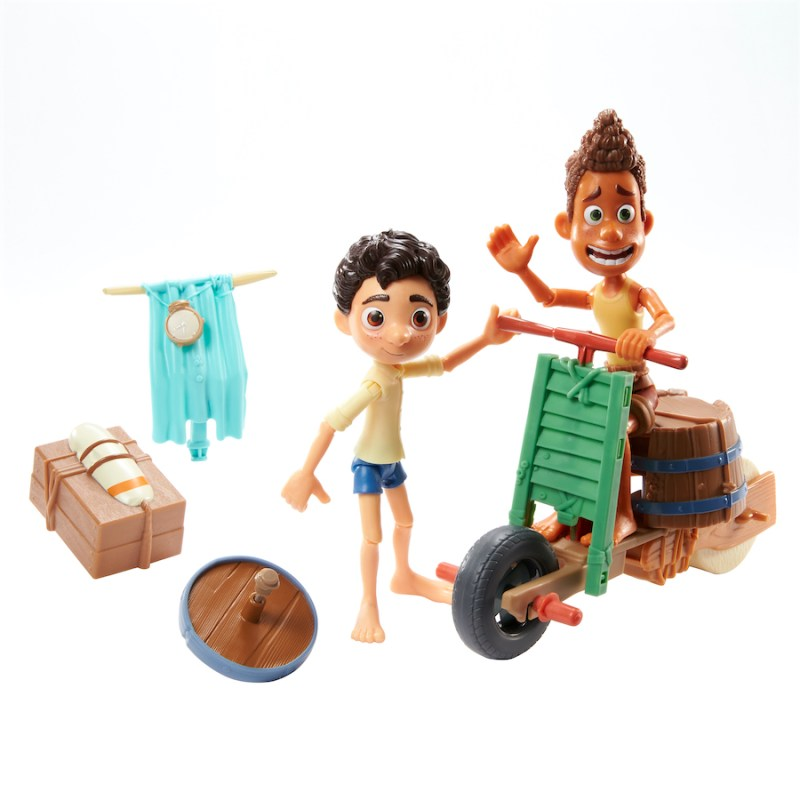 """""""Luca"""" Build-a-Scooter Pack by Mattel"""