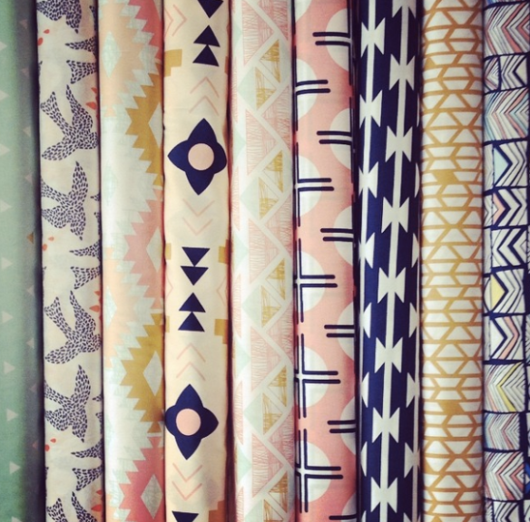 April Rhodes Fabrics have arrived - and they are BEAUTIFUL!