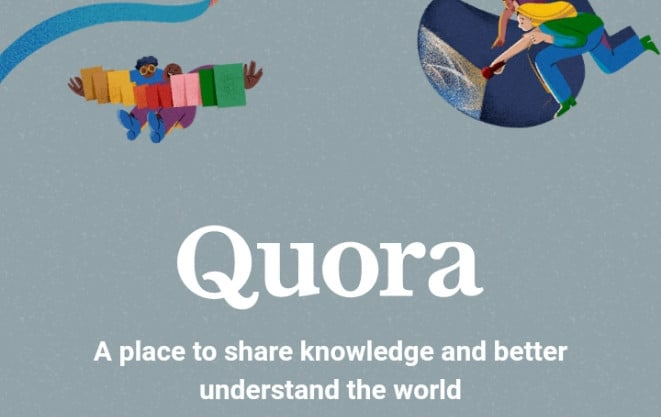 Quora image, another stackoverflow alternatives