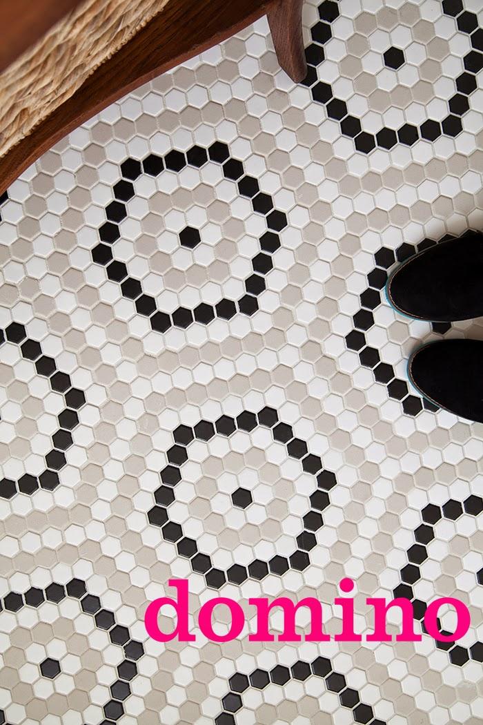 themakerista domino hex tile diy black