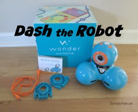 Read about Dash and Dot Robots from Wonder Company reviewed on www.TheMakerMom.com