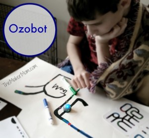 Ozobot is a top STEM gift pick from www.TheMakerMom.com.