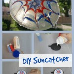 Make Your Own Faux Fireworks Suncatcher: Summer Fun with PURELL Hand Sanitizing Wipes