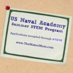 Applications Open for the USNA STEM Camp 2016