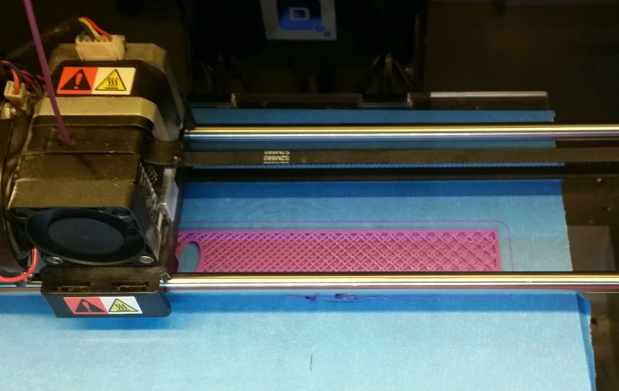 3D printing in progress