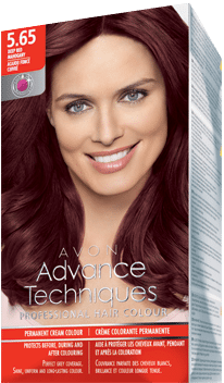 5.65 Deep Red Mahogany - Advance Techniques Professional Hair Colour - The  Make Up Box