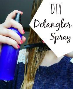DIY Detangler spray The Makeup Dummy