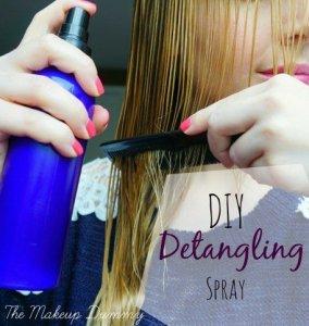 DIY Detangling spray | The Makeup Dummy