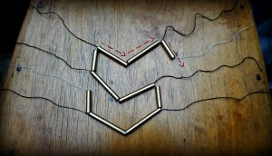 DIY Straw Art Necklace The Makeup Dummy TMD