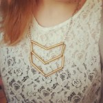 The Makeup Dummy DIY Straw art necklace design, very easy to make!