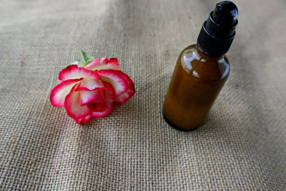 DIY night serum moisturizer