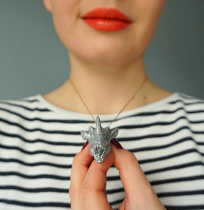 DIY Dragon Animal Pendant inspired by Game of Thrones - How To tutorial by The Makeup Dummy