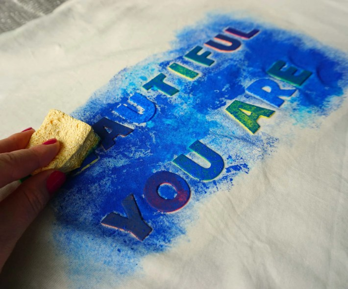 How To DIY Galaxy Quote Shirt for Star Wars Day! Tutorial by The Makeup Dummy