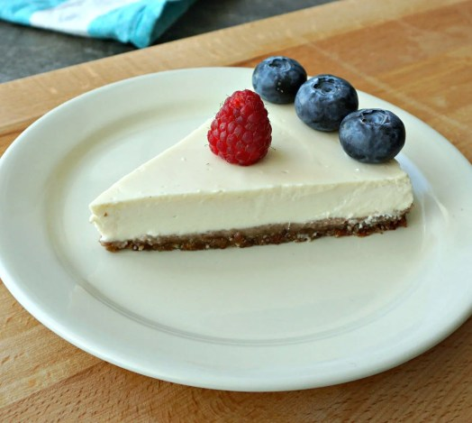Healthy Heavenly Cheesecake dessert recipe by The Makeup Dummy
