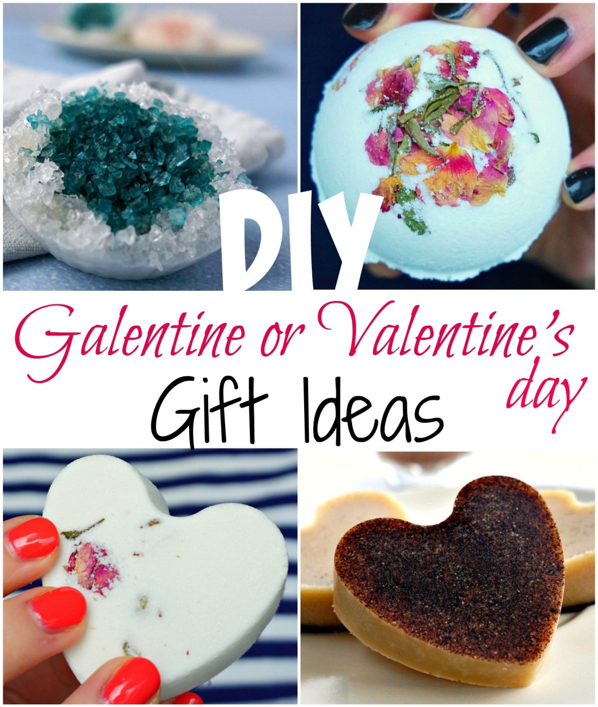 7 Easy and Cheap Galentine's or Valentine's day DIY gift ideas! Tutorials by The Makeup Dummy