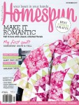 Australian Magazine Homespun Cover, feature by The Makeup Dummy