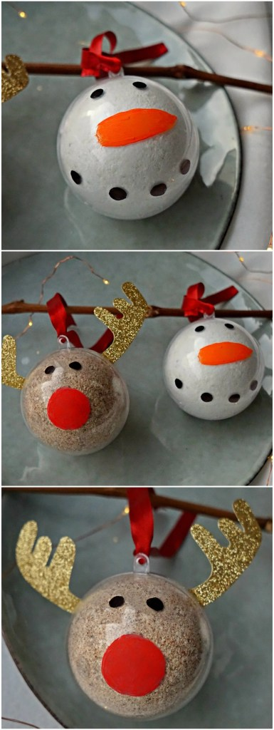 DIY Bath Bomb Ornaments How To Tutorial by The Makeup Dummy #diygifts #christmas