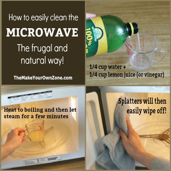 homemade microwave cleaner the make