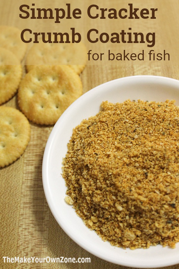 How to make a crumb coating for fish